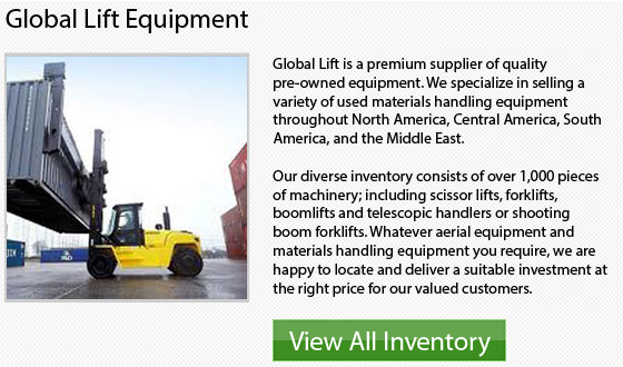 Mitsubishi High Capacity Forklift
